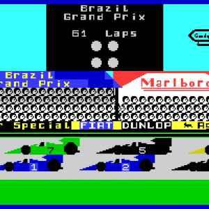 Formula One racing game