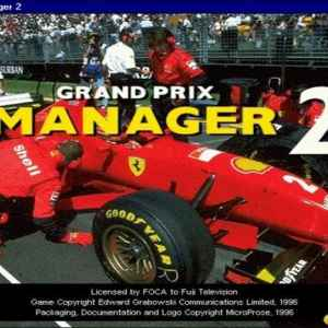 Grand Prix Manager 2 racing game