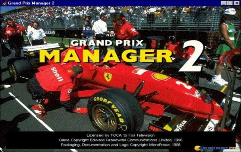 Grand Prix Manager 2 formula one game