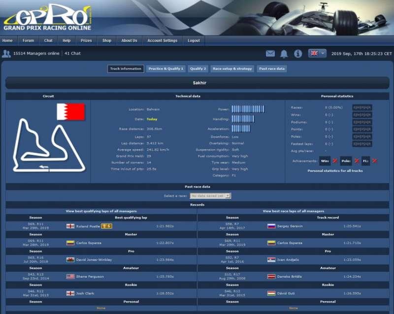 Grand Prix Racing Online formula one game